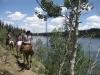 Blind Lake Half Day Horse Ride Boulder Mountain