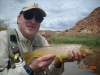 Nice Brown Trout on the Freemont River